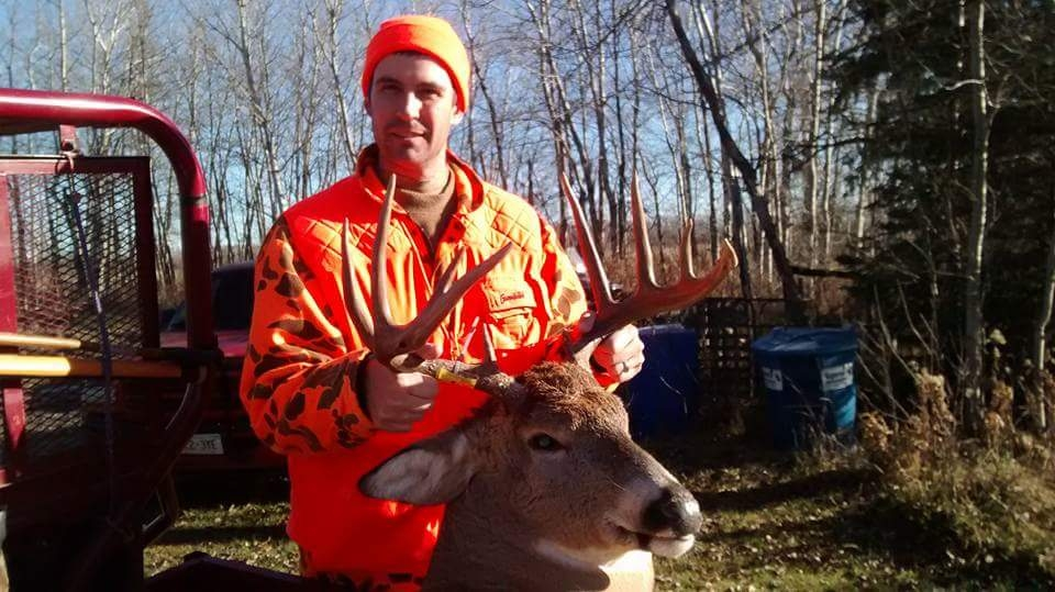 Matt Big Rainy River Buck